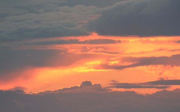 Clouds, Sunset, Wales