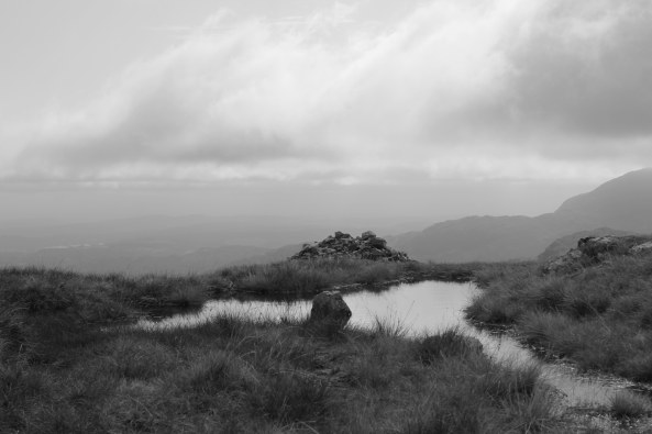 Lake District - Tarn on Thunacar Knott