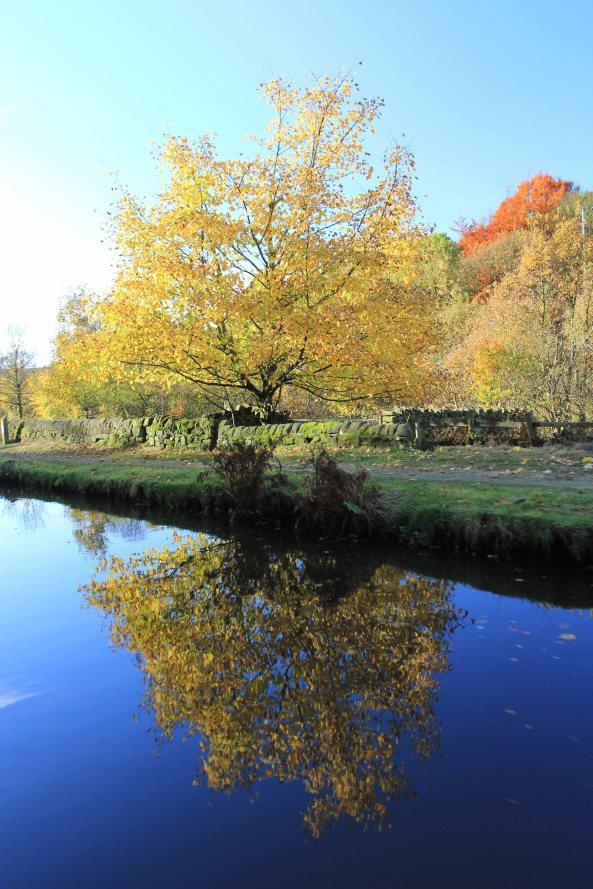 Photography, Autumn, Fall, Rochdale Canal