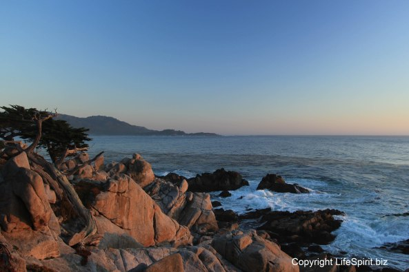 17 Mile Drive, Sunset, Mark Conway, Life Spirit