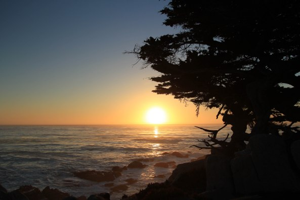 17 Mile Drive, California, Sunset