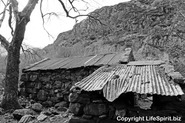 Miner's Cottage, Beddgelert, Snowdonia, North Wales, Landscape Photography, Life Spirit, Mark Conway
