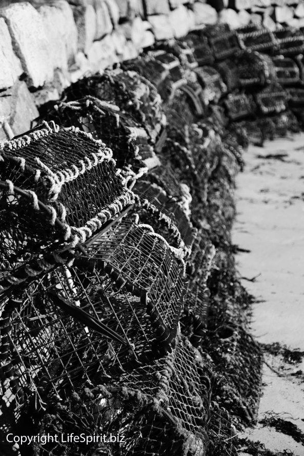 Lobster Pots, Photography, Mark Conway, Life Spirit