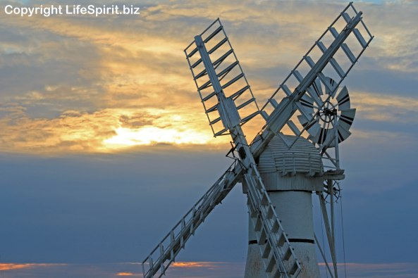 Windmill, Norfolk, Landscape Photography, Life Spirit, Mark Conway