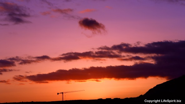 Engineering, sunset, Gran Canaria, Mark Conway, Life Spirit, Nature