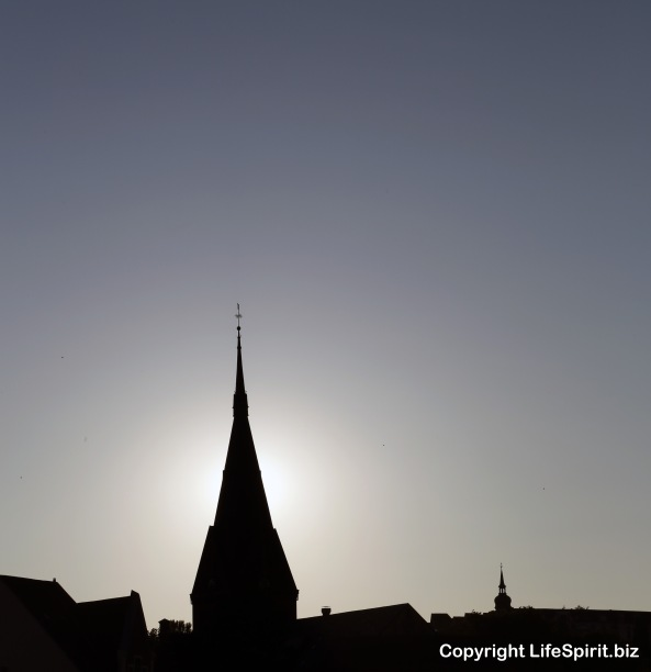 Spire, Church, Germany, Flensburg, Mark Conway, Life Spirit