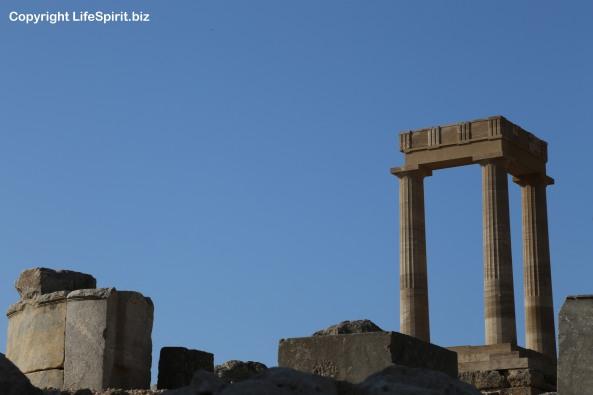 Acopolis, Lindos, Rhodes, Greece, Life Spirit, Mark Conway, Architecture, Ancient Greece