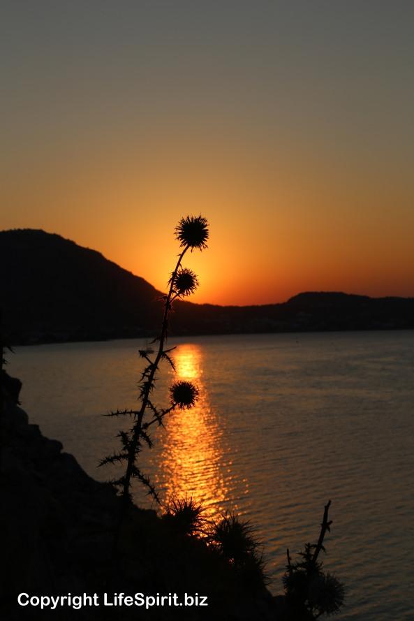 Sunrise, Rhodes, Greece, Life Spirit, Mark Conway, Nature