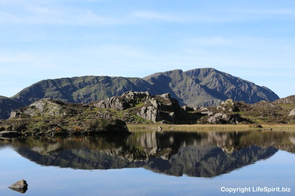 Tarn, Lake District Haystacks, Life Spirit, Mark Conway, Hiking