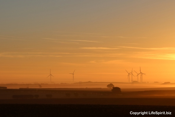 Sunrise, East Yorkshire, Spurn Point, Life Spirit, Mark Conway