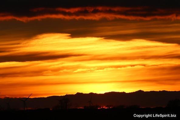 Sunset, East Yorkshire, Mark Conway, nature, Life Spirit