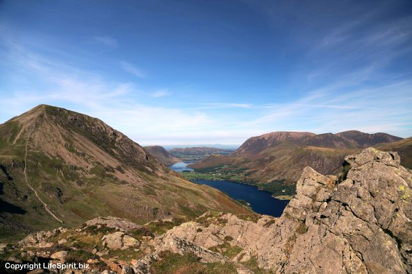 High Crag, Buttermere, Crummock Water, Lake District, Cumbria, Nature, mark Conway, Life Spirit