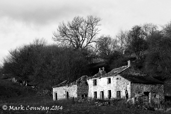 B&W, Yorkshire Dales, House, Photography, Mark Conway, Life Spirit
