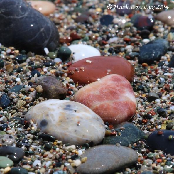 Pebbles. Seashore, Nature, Photography, Mark Conway, Life Spirit