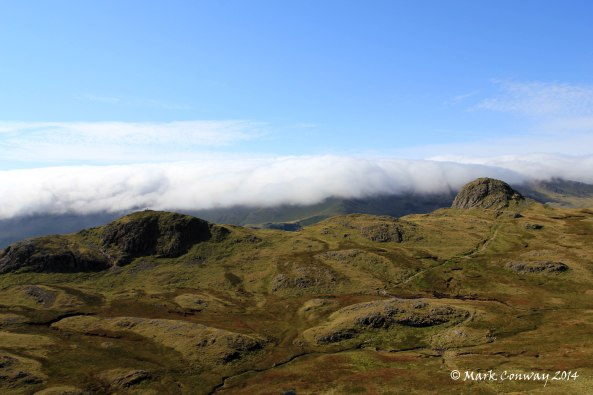 Langdale Pikes. Lake District, Cumbria, Hiking, Landscapes. Nature, Life Spirit. Mark Conway